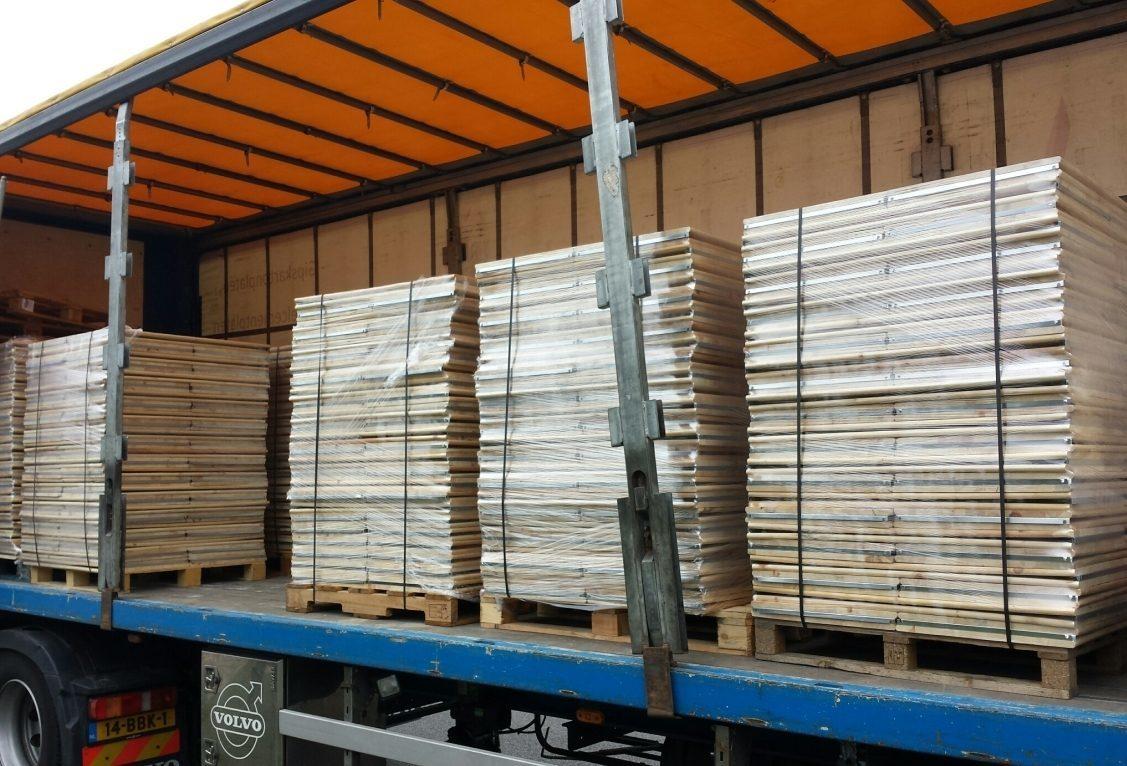 Houten Stellingen Gebruikt.Houten Stelling Gebruikt 305cm 15legb Stellingkast Nl