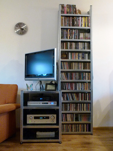 Audiorek met TV kast